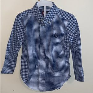 2t boys button up